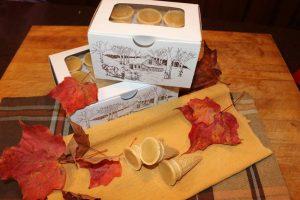 Cornets à la tire et au beurre d'érable 2 - La cabane à Boubou