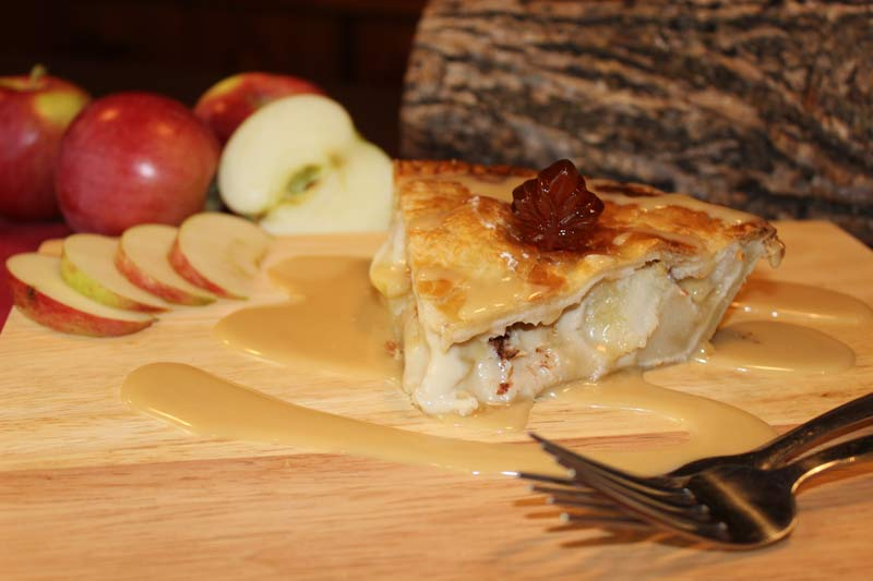 Tarte aux pommes - La cabane à Boubou